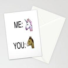 Unicorn fever Stationery Cards