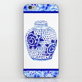 Chinoiserie Ginger Jar No. 1 iPhone Skin