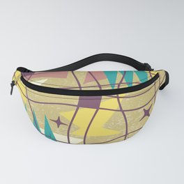 Mid Century Modern Abstract Pattern 576 Fanny Pack