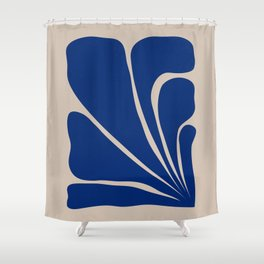 Six Leaf Plant - 2/3 Shower Curtain