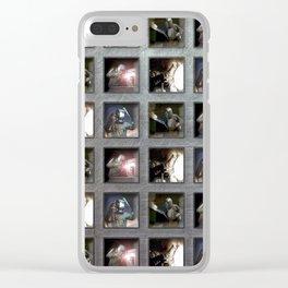 Welding Pattern Clear iPhone Case