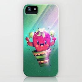 Strawberry Cactus iPhone Case