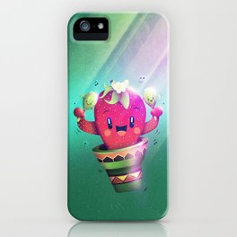 Strawberry Cactus iPhone Case