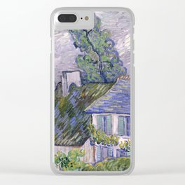 Houses in Auvers Clear iPhone Case