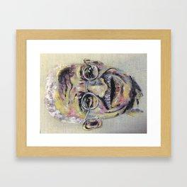 Ghandi Framed Art Print