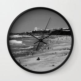 Biarritz, cote des basques. Wall Clock