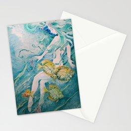 Fathom Mermaid Stationery Cards