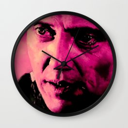 "Christopher Walken as Captain Koons ""The Gold Watch"" in ""Pulp Fiction"" (Q. Tarantino - 1994) Wall Clock"