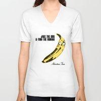 velvet underground V-neck T-shirts featuring The Velvet Ooonderground by Hitsville