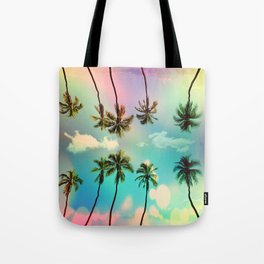 Palm trees Tote Bag