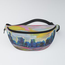 An Evening In Vancouver Fanny Pack