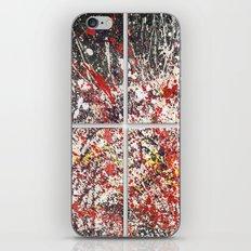 Trezzo - quadriptych (4 panels) iPhone & iPod Skin