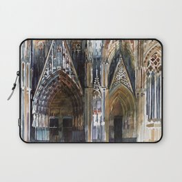 Koln cathedral's facade Laptop Sleeve