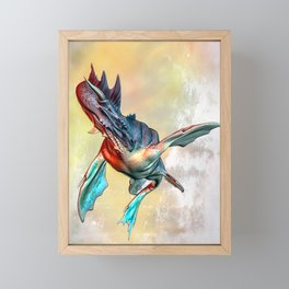Nessie Framed Mini Art Print