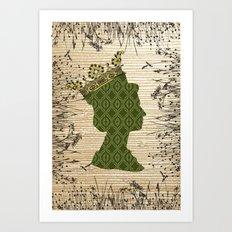 QUEEN 1 Art Print