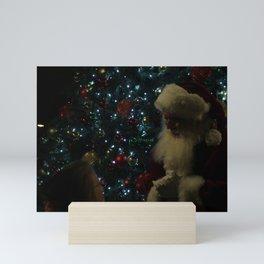 Visit With Santa Mini Art Print
