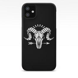 Goat Skull II iPhone Case