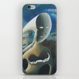 Self-Made Man and Empty-Headed Woman (1994) iPhone Skin