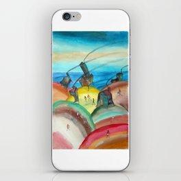 Casitas de Cabo Polonio 3 iPhone Skin