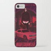 nightcrawler iPhone & iPod Cases featuring Nightcrawler by Anton Yeroma