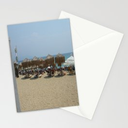 Beach in Greece Stationery Cards