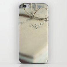 Letters To You iPhone & iPod Skin