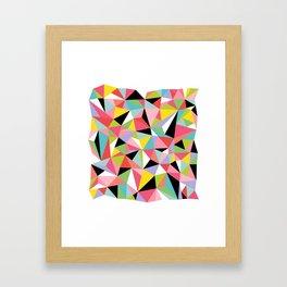 Geometric Jane Framed Art Print