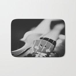Violin Strings Bath Mat