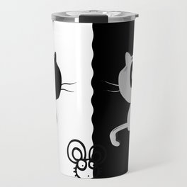 Catch the mouse Travel Mug