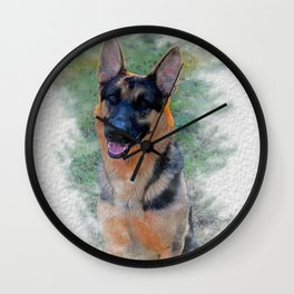 paint me like one of your good bois Wall Clock