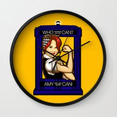 Amy Can! Wall Clock