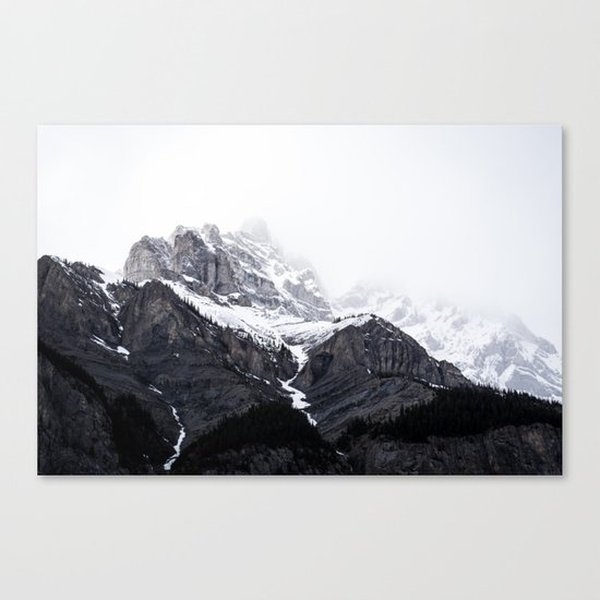 song of the mountains Canvas Print