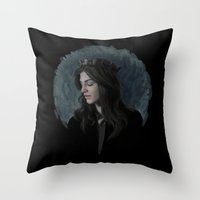 ruby Throw Pillows featuring Ruby by Armellin