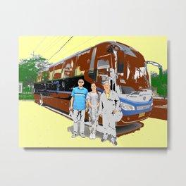 Family Trip Metal Print