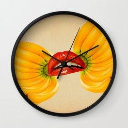 Surreal Gang Bang Wall Clock