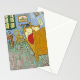 Vincent van Gogh - The Bedroom (1889) Stationery Cards