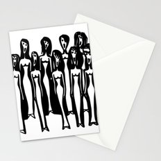 Weird Choir Stationery Cards