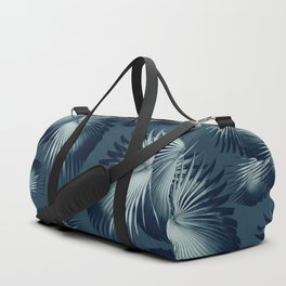 Fan Palm Leaves Paradise #12 #tropical #decor #art #society6 Duffle Bag