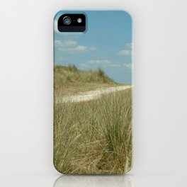 This way to the beach iPhone Case