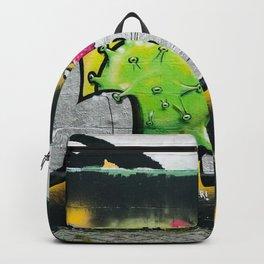 Graffiti Tag Urban Art Virus Backpack