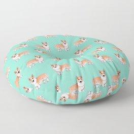 Pembroke Welsh Corgi dog Floor Pillow
