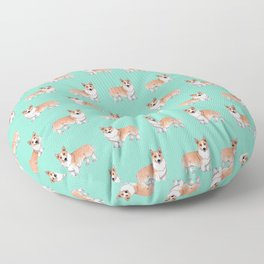 Pembroke Welsh Corgi dog Floor Pillow