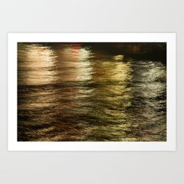 Night Light 137 - Water Art Print