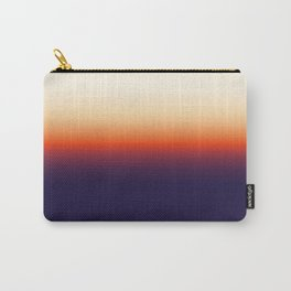 Infrared Orange & Ultraviolet Purple Sunrise Carry-All Pouch