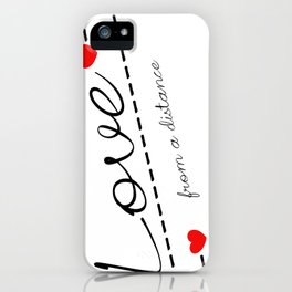Distant Love iPhone Case
