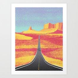 DREAM VACATION / Utah, US Art Print