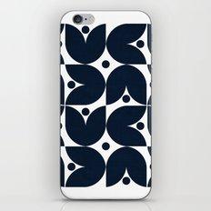 the tulips -navy iPhone & iPod Skin