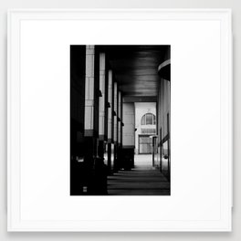 Downtown Omaha Architecture Framed Art Print