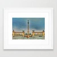 budapest Framed Art Prints featuring Budapest by jamesrizzi