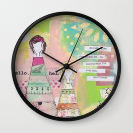 Everything Has Changed Wall Clock
